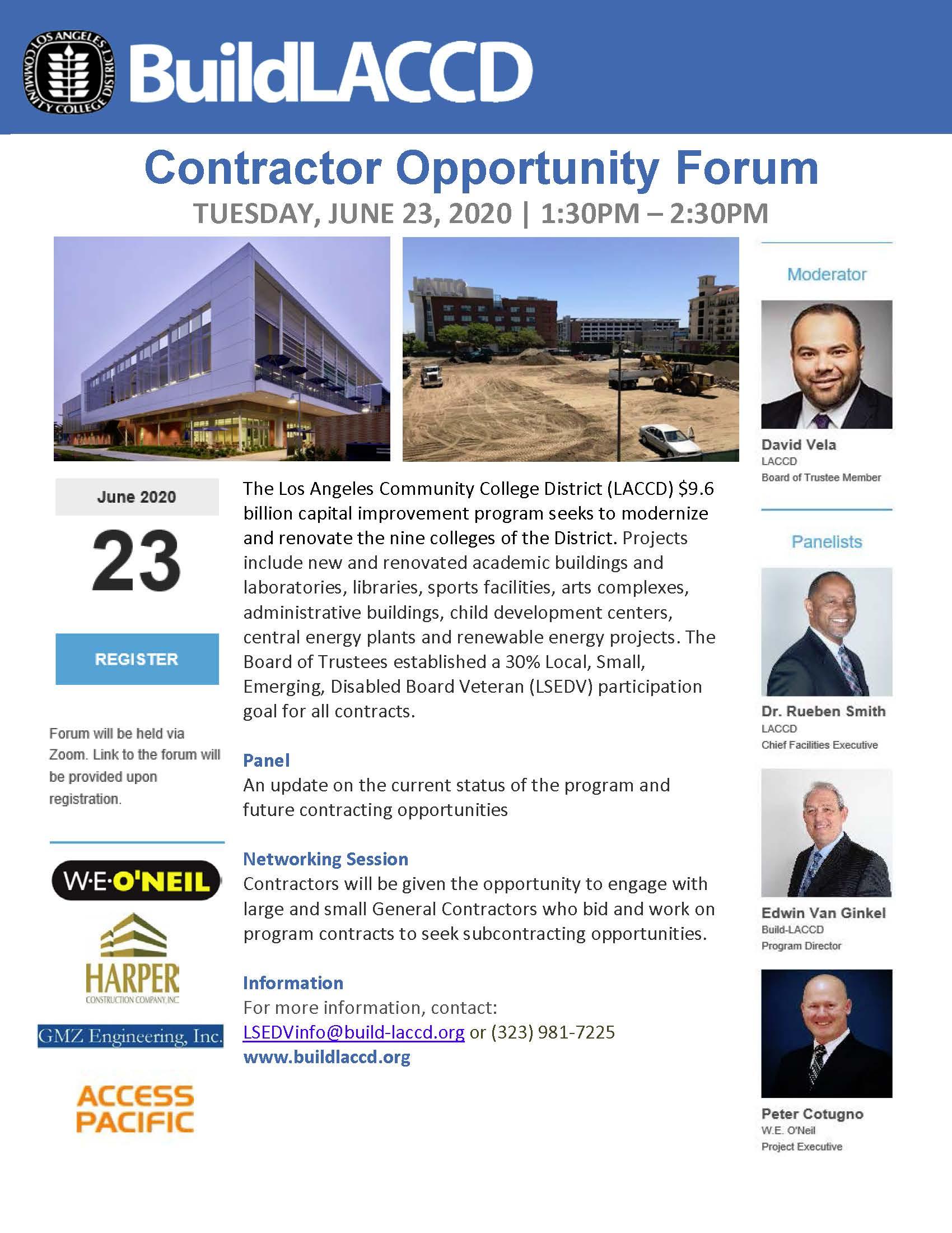 Opportunity Forum Flyer