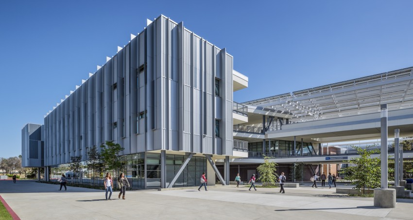 Modern new building at Harbor College