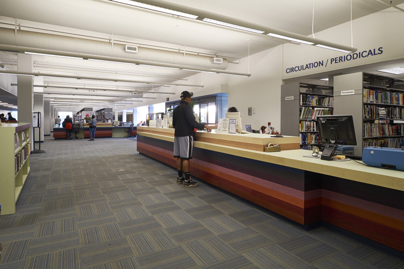 L.A. City College MLK Library